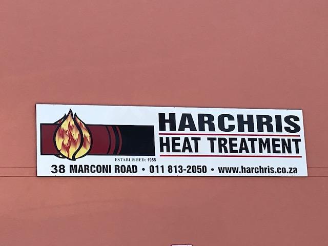 Harchris Heat treatment Logo